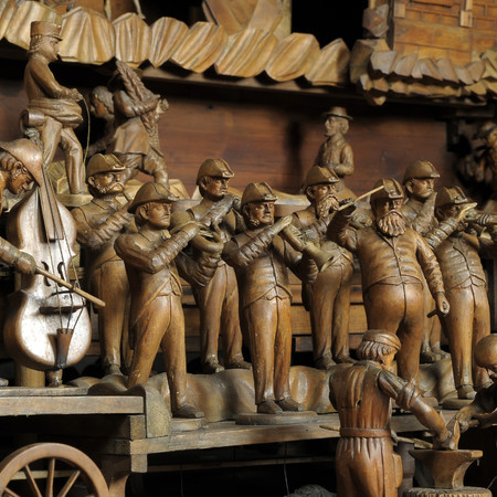 Znalezione obrazy dla zapytania třebechovický betlém